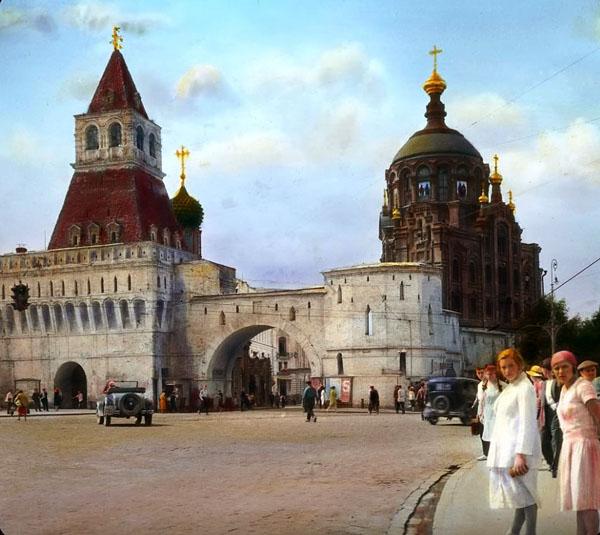 Китайгородская стена. Владимирская башня. Экскурсия по Китай-городу
