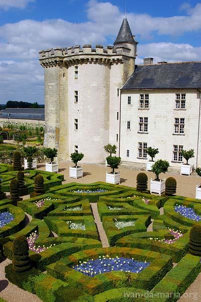Замок Вилландри. Château de Villandry