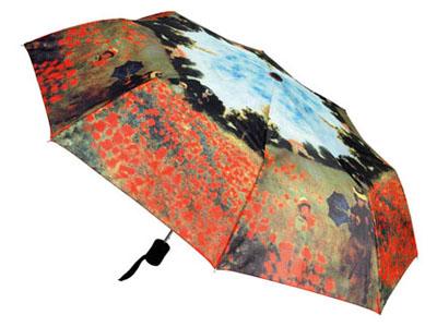Зонт Моне. Зонт Клод Моне. 15 наименований вещей, которые надо взять с собой в путешествие