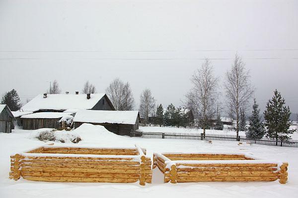 Село Ножкино. Костромская область. Авраамиево-Городецкий монастырь в Ножкино.