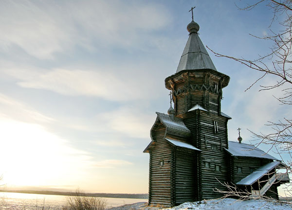 Карелия. Кондопога. Успенская церковь