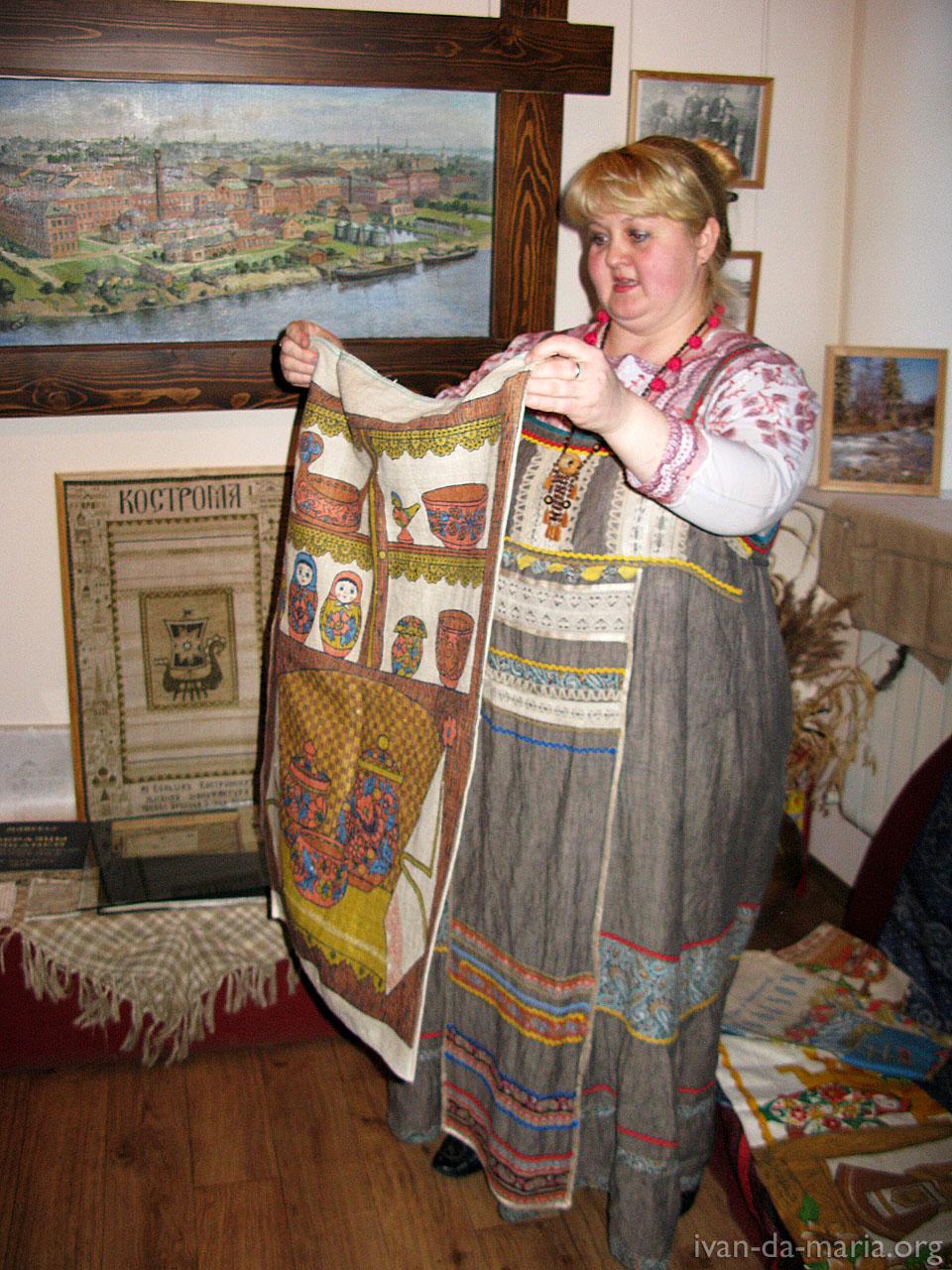 Кострома льняная столица россии фото 3