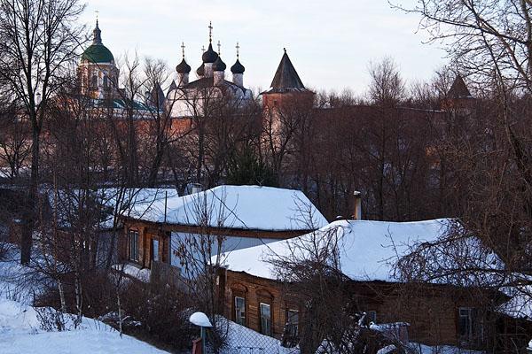 Зарайск. Фото Зарайск. Зарайск зимой. Московская область фото. Туры в Зарайск из Москвы. Тур Коломна - Зарайск