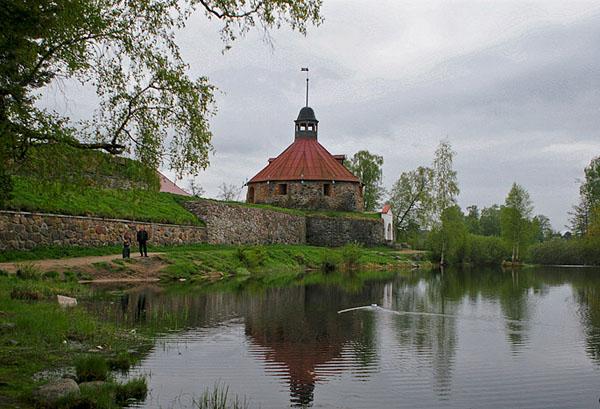 Приозерск фото, крепость Корела - Priozersk photo. Туры в Ленинградскую область - Приозерск - Валаам'