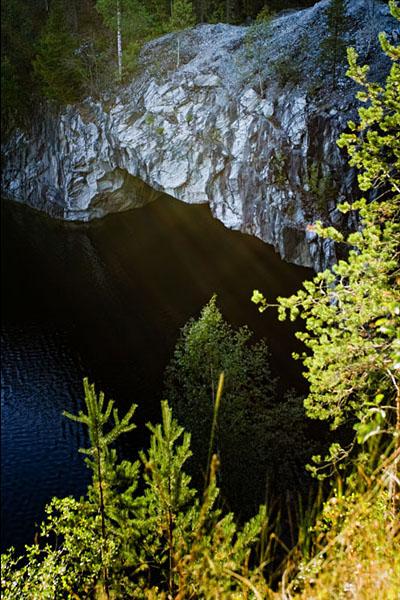 Горный парк Рускеала. Рускеальские водопады