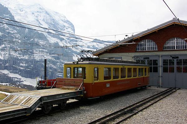JB - Jungfraubahn, Switlerland. Kleine Scheidegg to Jungfraujoch - Top of Europe, Jungfrau