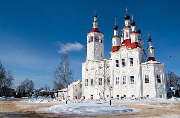 Великий Устюг – Сольвычегодск – Тотьма