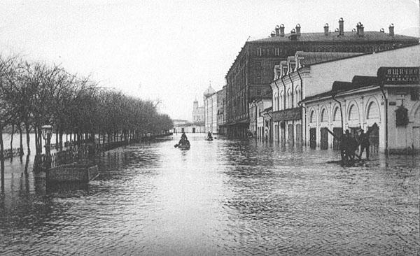 Экскурсия Остров Балчуг - Московское наводнение 1908 года на Балчуге