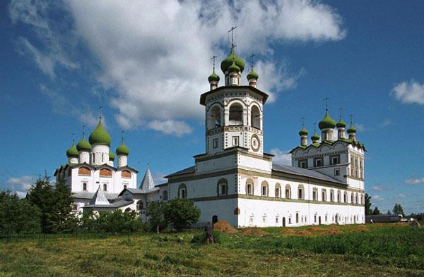 фото Николо-Вяжищский монастырь Новгородская область - Novgorod photos