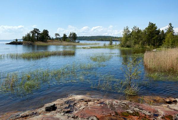 Ладоские шхеры фото - Ladoga skerries photo. Тур Сортавала Ладожские шхеры