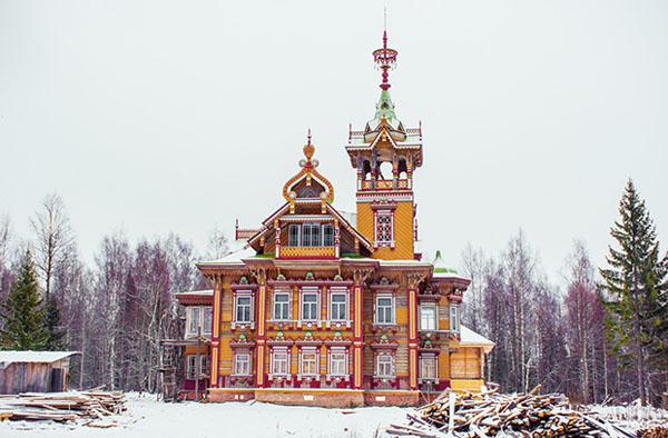 Крестьянский терем Село Асташово (Осташёво). Костромская область. Чухломские терема