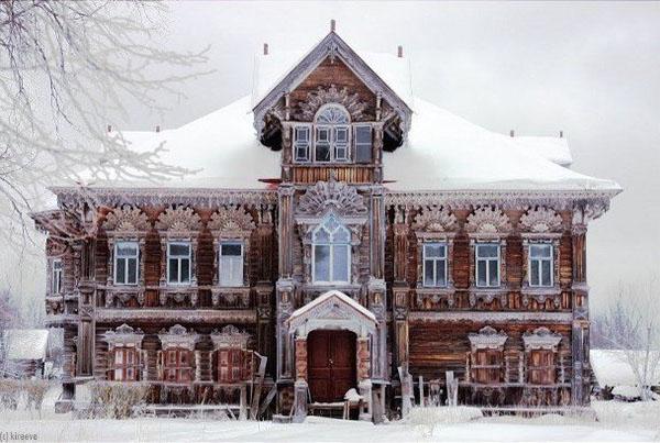 Крестьянский терем Село Погорелово. Костромская область. Чухломские терема