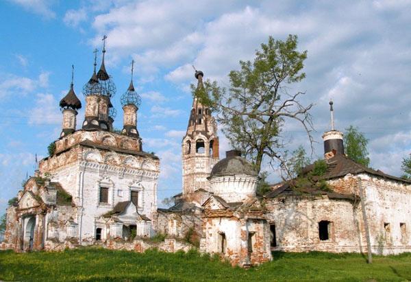 село Дунилово Ивановская область достопримечательности Дунилово церковь фото