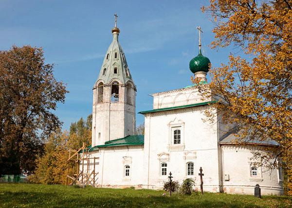 достопримечательности Ивановской области село Палех фото