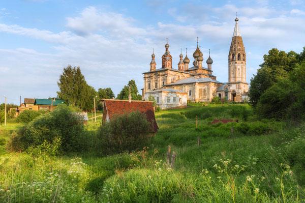 достопримечательности Ивановской области село Парское фото