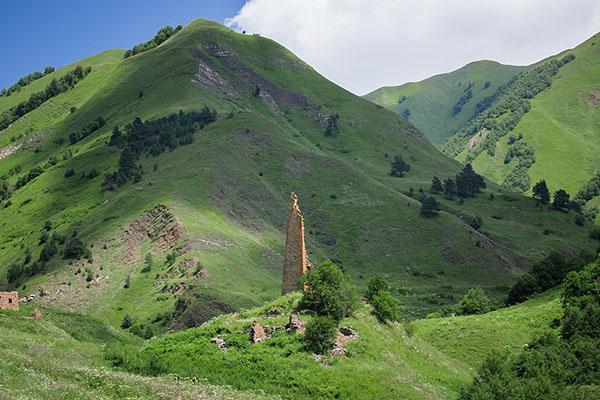 Экскурсии Горная Чечня туры Терлойское ущелье Барой