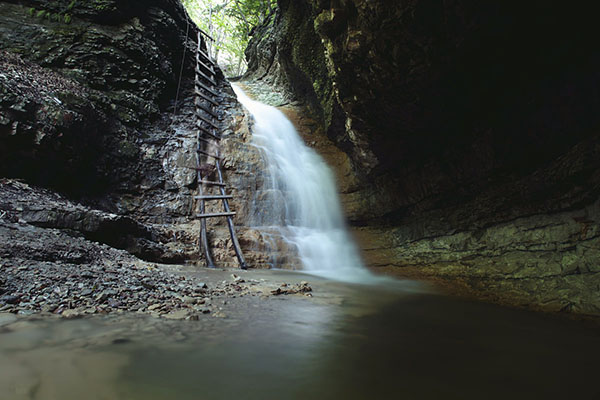 Экскурсии Горная Чечня Нихалойские водопады