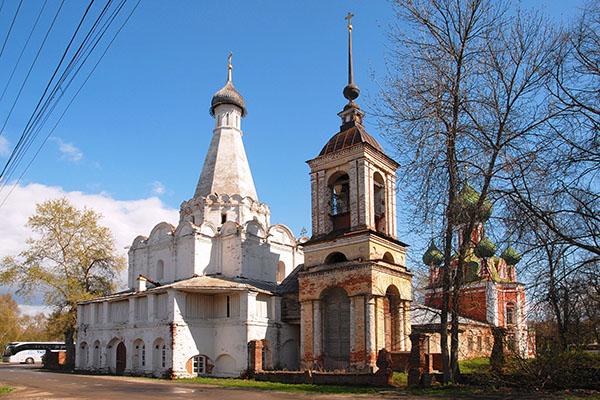 фото шатровая церковь Петра Митрополита Переславль-Залесский