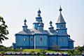 Кожан-городок деревянная церковь Полесье
