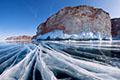 Зимний Байкал лёд