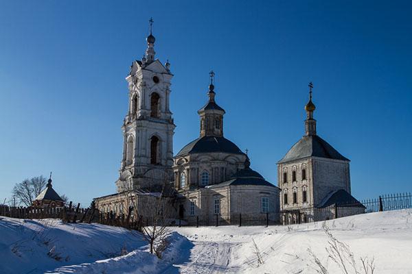 Рязанская область Гусевской погост зимой