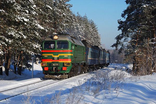 Владимирская область линия Владимир - Тумская
