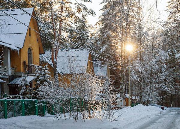 фото зимой Дубна