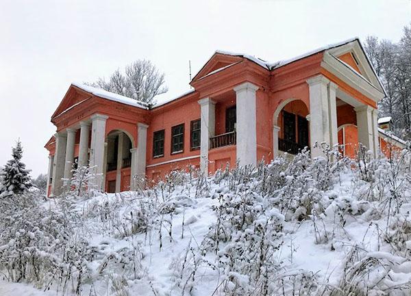 фото зимой Икша Канал имени Москвы Дом культуры канала имени Москвы