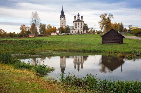 достопримечательности Ивановской области село Красное Палехский район церковь фото