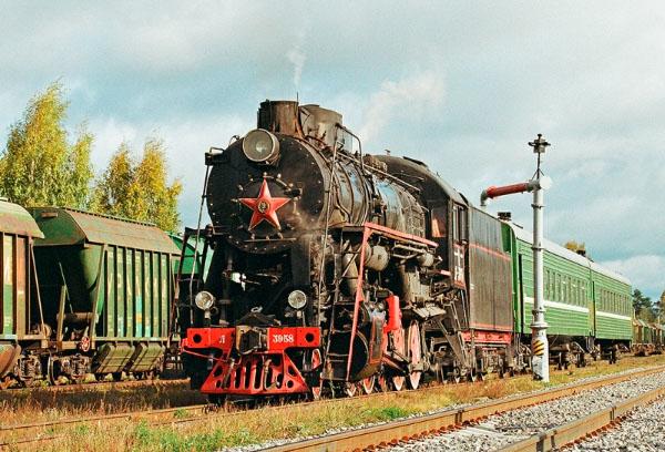 Бологое-Полоцкая заповедная железная дорога паровоз Куженкино