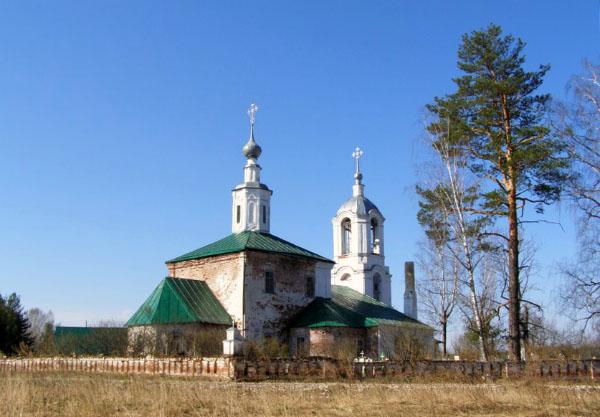 фото храм Чамерево Владимирская область