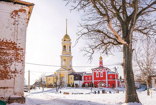 экскурсия Белёв Тульская область зима