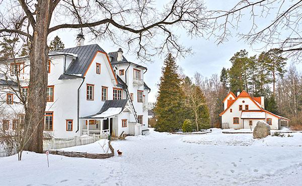 фото музей Поленово Тульская область зимой Polenovo museum