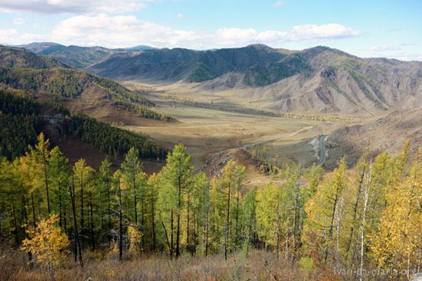 Горный Алтай золотая осень