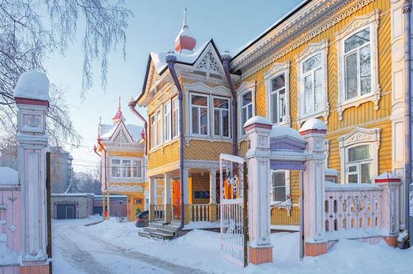 Томск деревянное зодчество дом