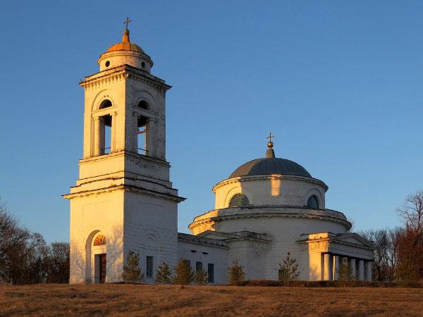 Троицкая церковь Бобылёвка Саратовская область