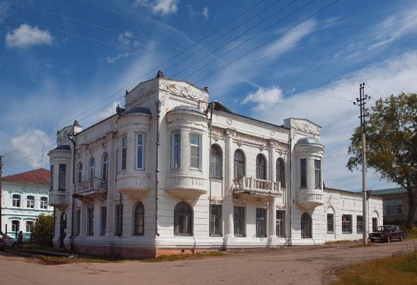 особняки село Большое Мурашкино Нижегородская область модерн