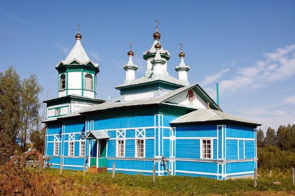 единоверческая церковь село Малое Мурашкино Нижегородская область