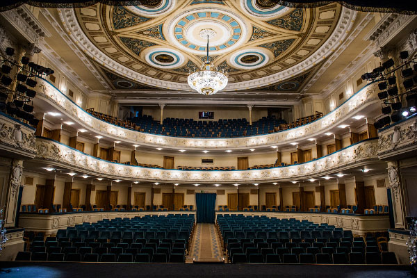 Нижегородский театр драмы зал фото Нижний Новгород