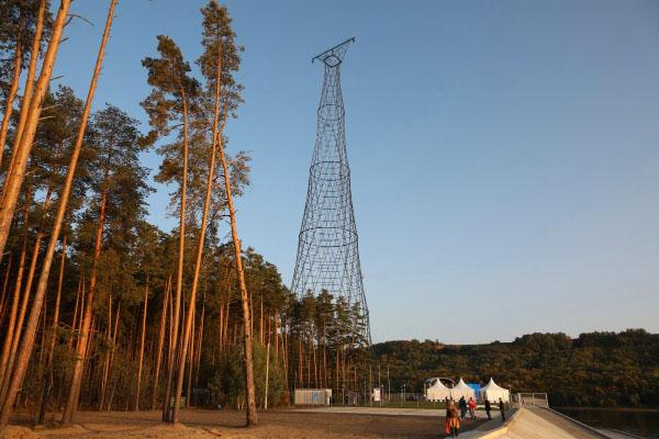 Шуховская башня на Оке фото после реконструкции Нижегородская область