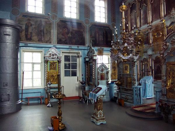 деревянная церковь село Великий Враг Кстово Нижегородская область
