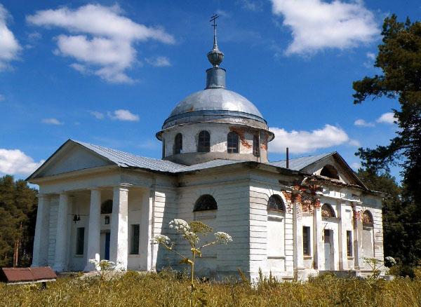 фото Ветошкино усадьба Пашкова церковь Нижегородская область Гагинский район достопримечательности