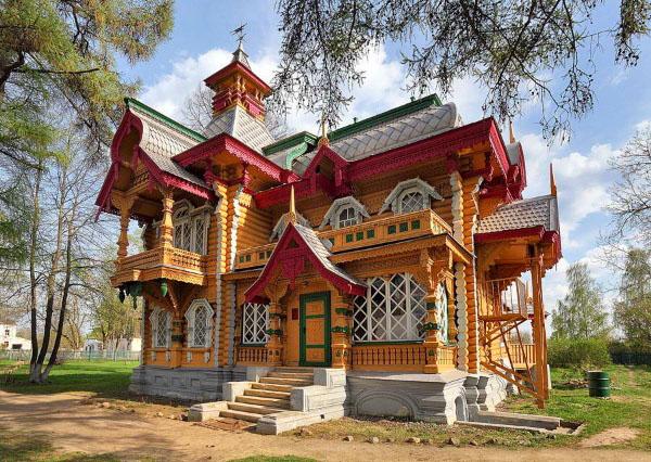 Сейма дом Бугрова терем Володарск фото Нижегородская область