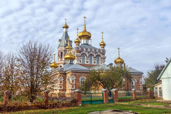 Свято-Троицкая церковь слобода Большая Мартыновка Ростовская область