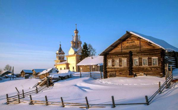 самая красивая деревня России Кимжа Архангельская область
